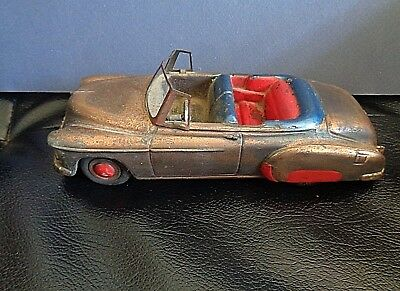 Vtg. Metal Authentic Scale Chevrolet Convertible-National Product U.s.a.-1950's