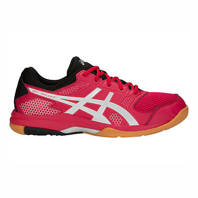 Asics GEL-Rocket 8 [B706Y-600] Unisex Volleyball Badminton Shoes Samba/Silver