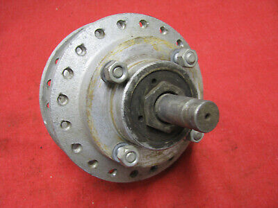 Triumph Front Disc Brake Hub and Axle AHRMA Cafe Racer 092618