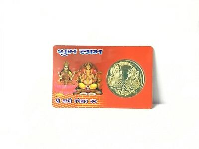 Shubh Labh Pocket Yantra Lakshmi Ganesha To Increase Your Business Wallet Yantra