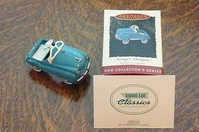 1994 Hallmark Murray Champion Pedal Kiddie Car Ornament Classics #1 Series