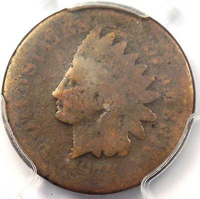 1877 Indian Cent 1C - PCGS AG Details - Rare Key Date Certified Penny!
