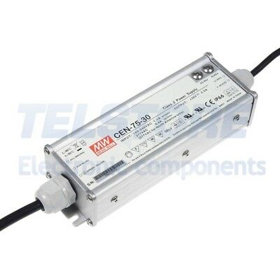 1pcs CEN-75-30 Alimentatore switching per diodi LED 75W 30VDC 27÷33VDC 2,5A MEAN