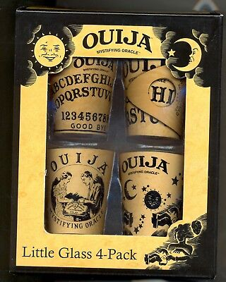 OUIJA LITTLE GLASS 4 PACK  NIB Awesome Item for Halloween party or as a gift NEW