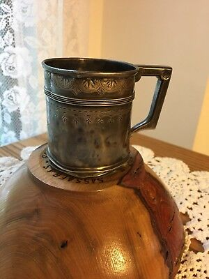 Vintage 1876 Gorham Manufacturing Company USA STERLING Silver Child Cup #1505I