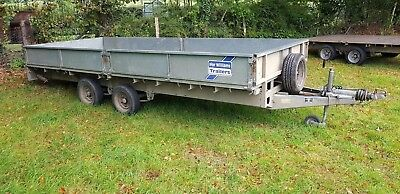 Ifor williams 16ft Trailer with ramps