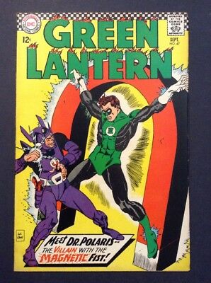 Green Lantern #47 (Sep 1966, DC) APPEARANCE BY * DR. POLARIS * CLASSIC SERIES