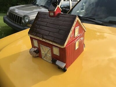 Farm Barn Setting Cookie Jar