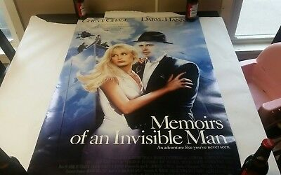 Chevy Chase-Momoirs of an Invisible Man original movie poster 27x40 double sided