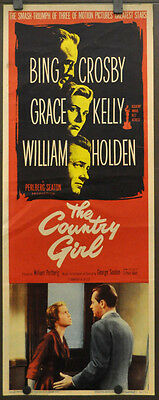 The Country Girl R-1959 Original 14X36 Movie Poster Grace Kelly Bing Crosby