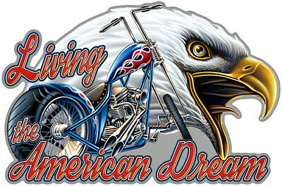 Living American Dream  Novelty Sign | Funny Home Décor Garage Wall Plastic Gag G