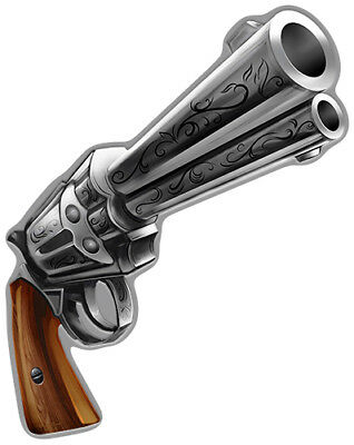 Six Shooter  Novelty Sign | Funny Home Décor Garage Wall Plastic Gag Gift