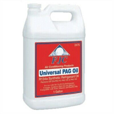 PAG Oil, Universal Refrigerant Oil, with Leak Detection Dye, for R12 or R134a, G