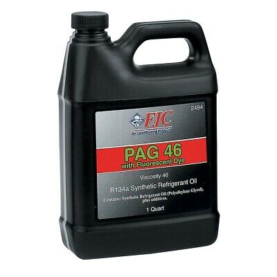 PAG 46 Oil with Fluorescent Leak Detection Dye, Quart FJC2494 Brand New!
