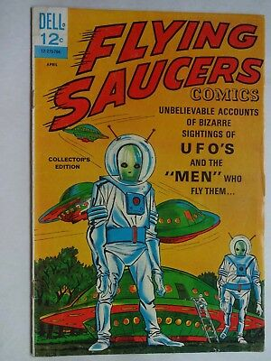 Flying Saucers #1   UFO's   Collector's Edition   Silver Age   Dell