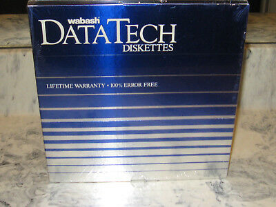 8 inch SSDD floppy disks NOS two factory sealed boxes of 10, 20 disks total