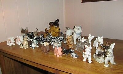 Scottish terrier models 24 selling collection all in good shape not all perfect