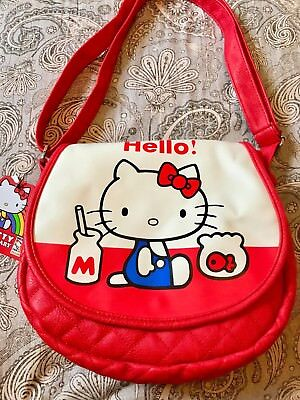 Sanrio Hello Kitty Con 40th vintage-inspired shoulder bag - NEW w tags