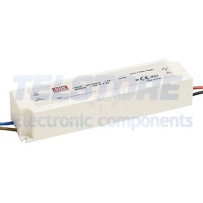 1pcs LPV-100-5 Alimentatore switching per diodi LED 60W 5VDC 12A 90÷264VAC MEAN