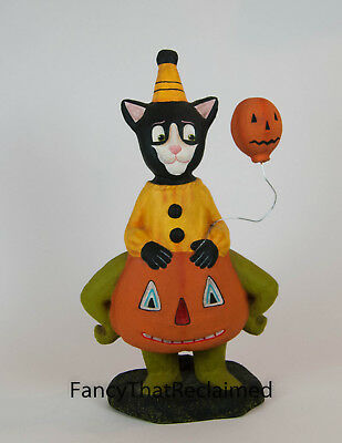 "Halloween ""Cat in The Jack""  LG AL1009 by Allen Cunningham for Bethany Lowe NOS"