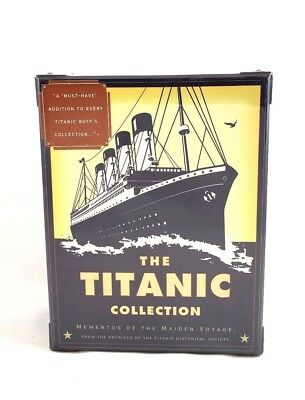 The Titanic Collection: Mementos of the Maiden Voyage Brand New