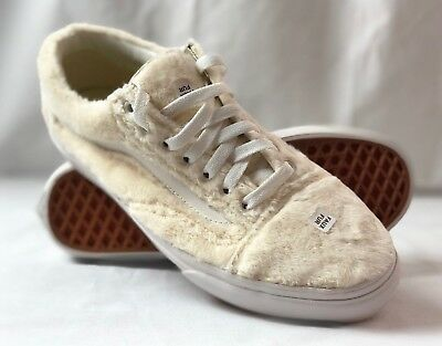 VANS OLD SKOOL Sherpa Turtledove Women s Skate Shoes Size 9.5 ... 0abad170a