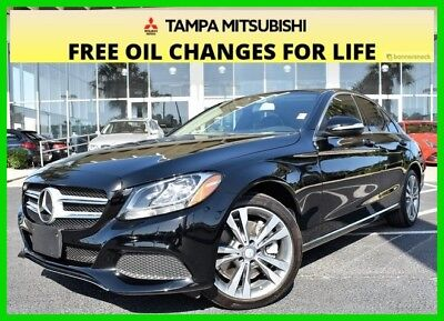 Mercedes-Benz C-Class C 300 ~~ Like New ~~ Low Miles ~~ Clean Carfax ~~ 2015 C 300 Used Turbo 2L I4 16V Automatic 4MATIC Sedan Premium