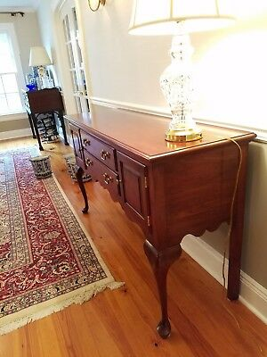 Ethan Allen Georgian Court Queen Buffet Sideboard