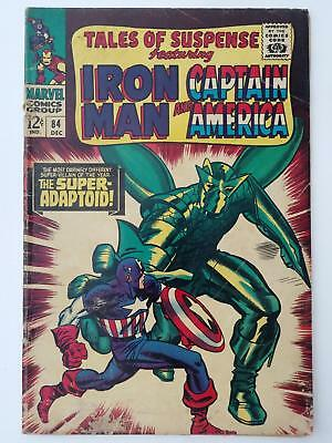 Tales Of Suspense #84 (Ng) Captain America; Super-Adaptoid Appearance