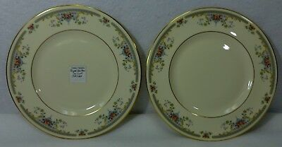 ROYAL DOULTON china JULIET H5077 pattern Salad Plate - Set of Two (2) - 8""