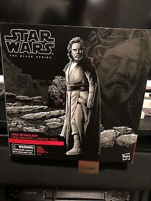 "STAR WARS EP8 6/"" BLACK SERIES THE LAST JEDI LUKE SKYWALKER AHCH-TO ISLAND BASE"