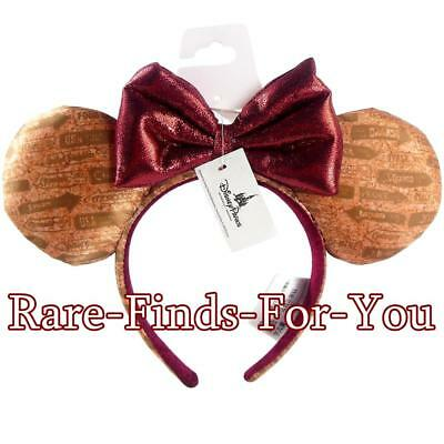 Disney Parks 2018 Epcot Food and Wine Festival Minnie Mouse Ears Headband (NEW)