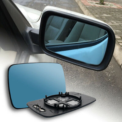 Left Passenger side Wide Angle Wing mirror glass for Toyota Hilux 1998-05 heated