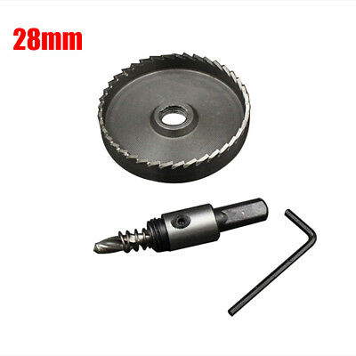 23-80mm HSS Holesaw Metal Hole Saw Drill Bit Stainless Steel Cutter Tool Durable
