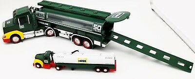 50Th Anniversary Limited-Collector's Edition Hess Toy Truck 2014 Excellent Cond
