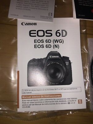 Canon Eos 70d Genuine Instruction Owners Manual 70d Book Original