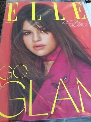 ELLE MAGAZINE Uk OCTOBER 2018 SELENA GOMEZ COVER & INTERVIEW