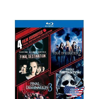 4 Film Favorites: Final Destination Collection [Blu-ray] Free Shipping, New