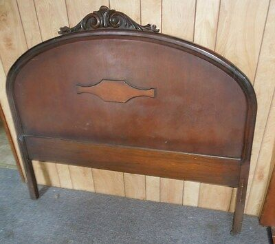 Vintage Antique Bed Frame Full Size - Head And Foot Boards