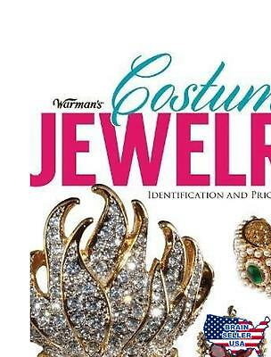Warman's Costume Jewelry: Identification and Price Guide Free Shipping, New