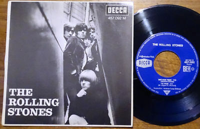 """The Rolling Stones EP Get Off Of My Cloud +3 Decca 457.092 M France 1965 45 7"""""""