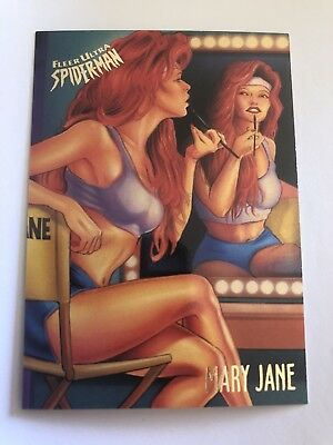 1995 Fleer Ultra Spider-Man Marvel Card #37 Mary Jane