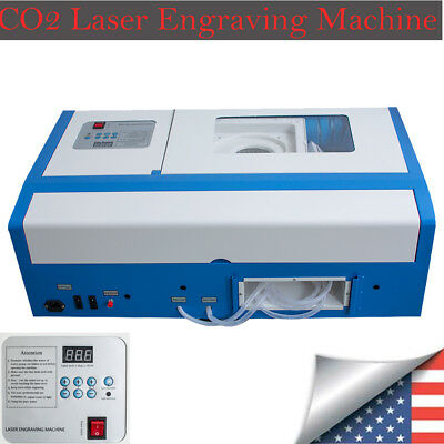 2019 NEW! USA-Pro-CO2 Laser Engraving Cutting Machine Engraver Cutter USB Port