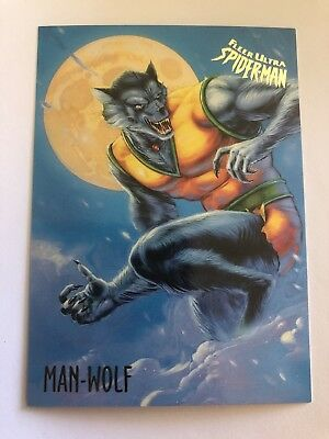 1995 Fleer Ultra Spider-Man Marvel Card #36 Man Wolf
