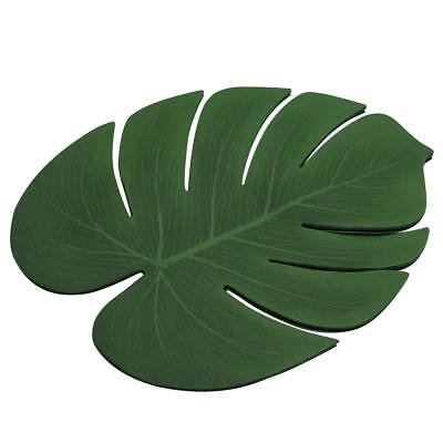 Happy Trees Large Artificial Tropical Palm Leaves, Artificial Monstera Leaves
