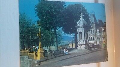 SCOTLAND PC THE SQUARE CRIEFF RP 1980s £1.99 POST FREE UK
