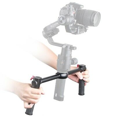 Adjustable Ant-Slip Dual Handle Gimbal Grip Handlebar For DJI Ronin-S Stabilizer