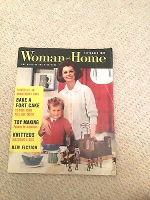 Woman and Home 1962 vintage magazine