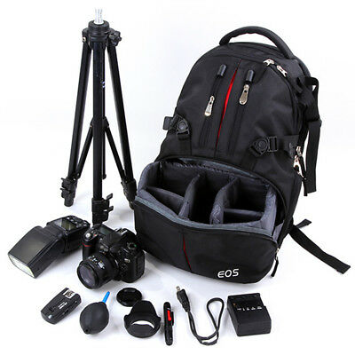Professional Backpack SLR Camera Photography Bag Notebook Bags For Canon Nikon