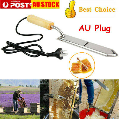 240V S/Steel Beekeeping Electric Honey Uncapping Hot Knife Extractor Bee Supply